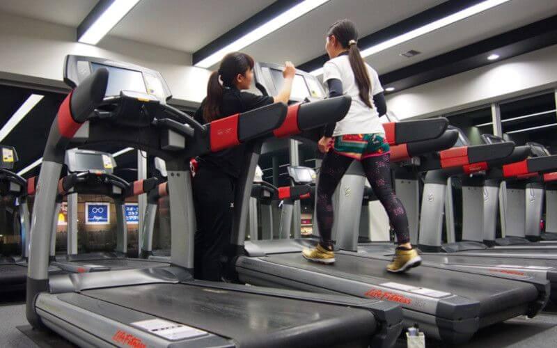 メガロス浜松市野有酸素ジョギング