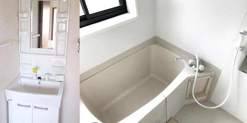 上西町の物件お風呂