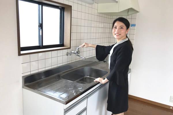 上西町の物件キッチン