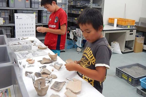キッズ&ジュニア考古学体験
