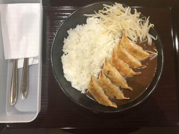 餃子カレー1