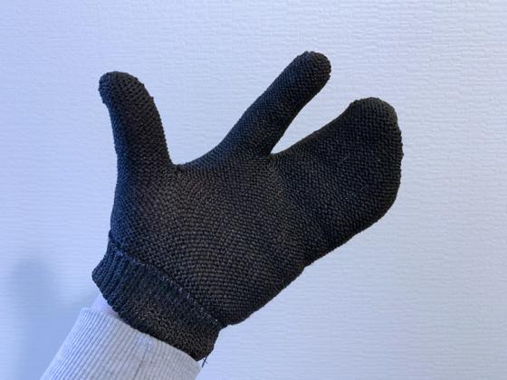 手袋たわし